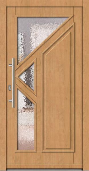 "Standardmaß Holz Haustür ""ANTON"" 66mm"